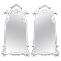 Pair or Single 1950s Silver Gilt Mirrors