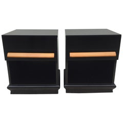 Pair of Paul Lazlo Nightstand /End Tables