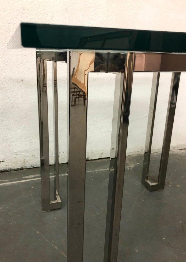 Minimalist Pair Paul M. Jones End Tables For Sale