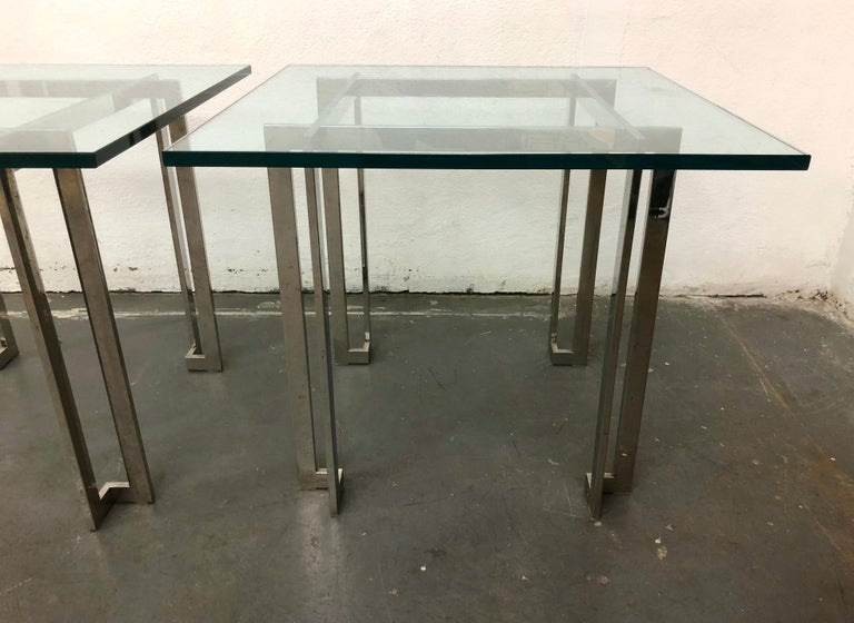 Pair Paul M. Jones End Tables In Good Condition For Sale In Brooklyn, NY