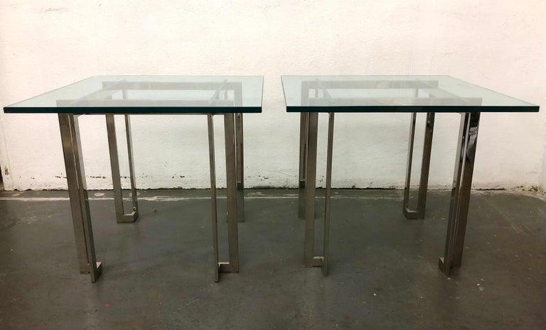 Pair Paul M. Jones End Tables For Sale 1