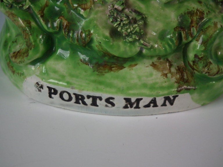 Pair of Pearlware Staffordshire 'Sports Man' & 'Archer' Figures For Sale 1