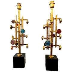 Pair of Poliarte Lamps