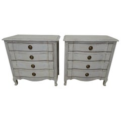 Pair of Rococo Style Nightstands
