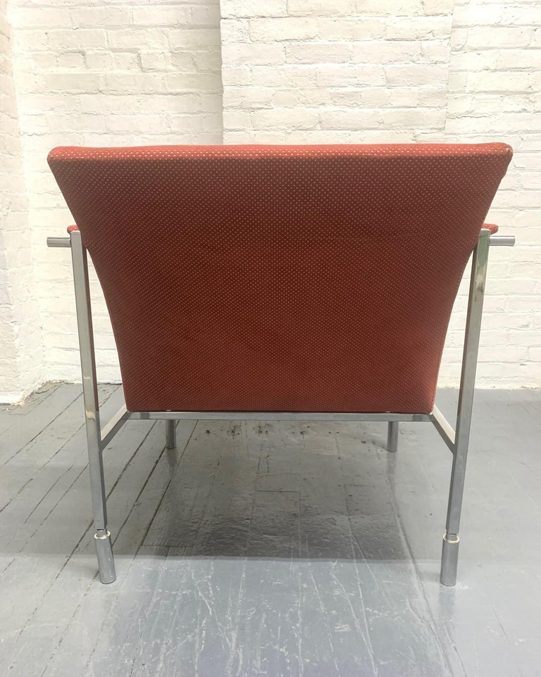 Pair of Saporiti Lounge Chairs In Good Condition For Sale In New York, NY