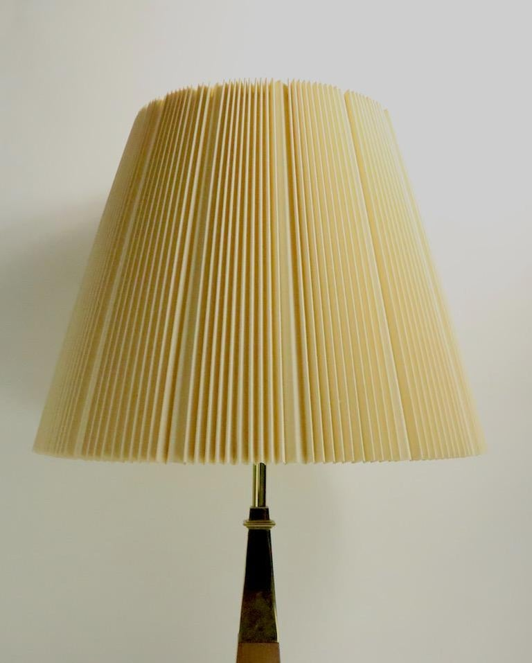Pair of Stiffel Lamps After Parzinger For Sale 3
