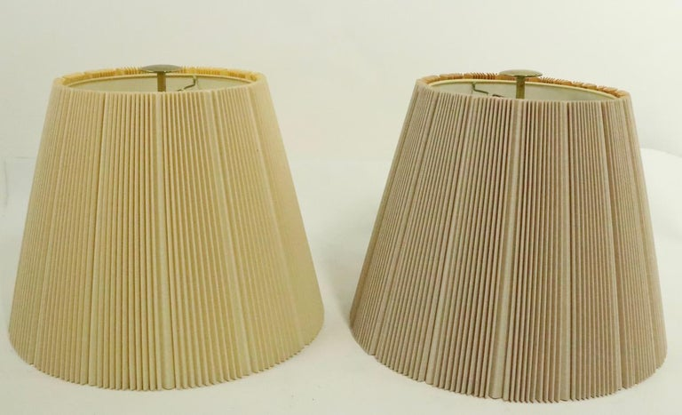 Pair of Stiffel Lamps After Parzinger For Sale 5