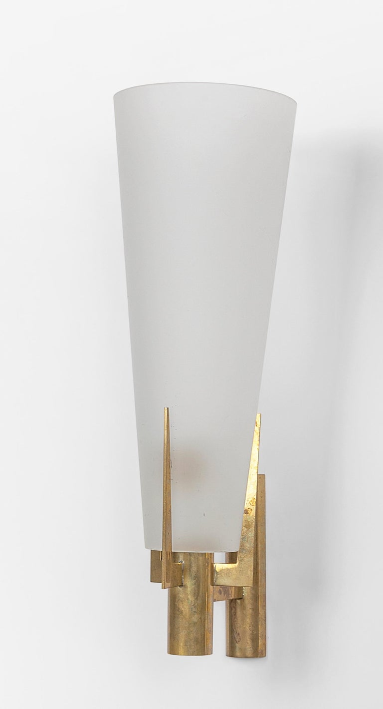 Pair of Stilnovo Model 2021 Sconces In Good Condition For Sale In Hingham, MA