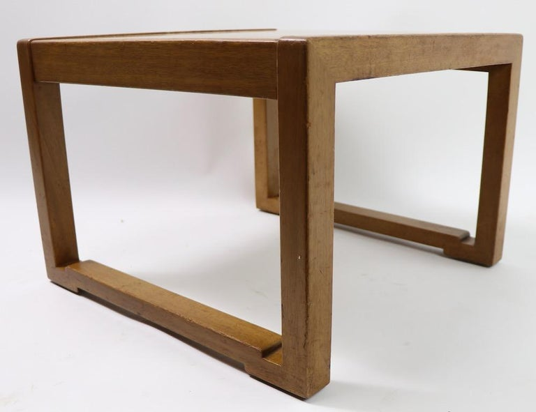 Pair of Tables designed by Wormley for Dunbar For Sale 4