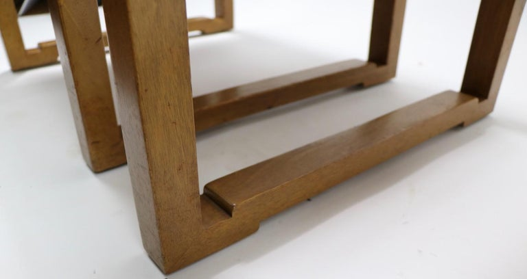 Pair of Tables designed by Wormley for Dunbar For Sale 1