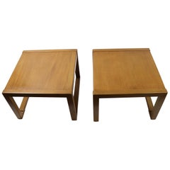 Pair of Tables designed by Wormley for Dunbar