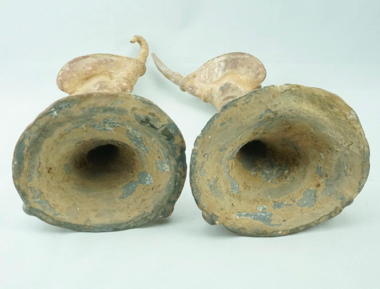 Pair Tang Dynasty Dancing Figures, China '618-907AD' For Sale 1