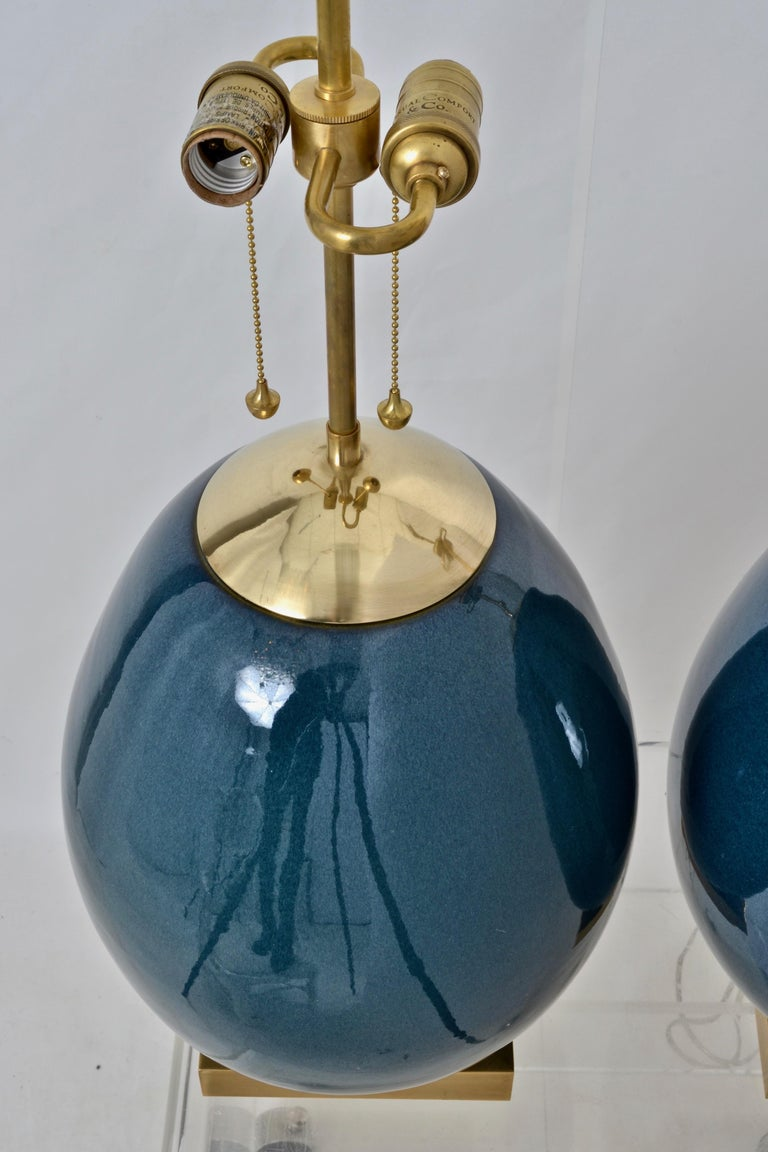 Contemporary Pair Thomas O'Brien for Visual Comfort Ciro Table Lamps For Sale