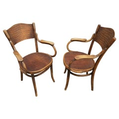 Pair of Thonet Bentwood Chairs Early 20th Century
