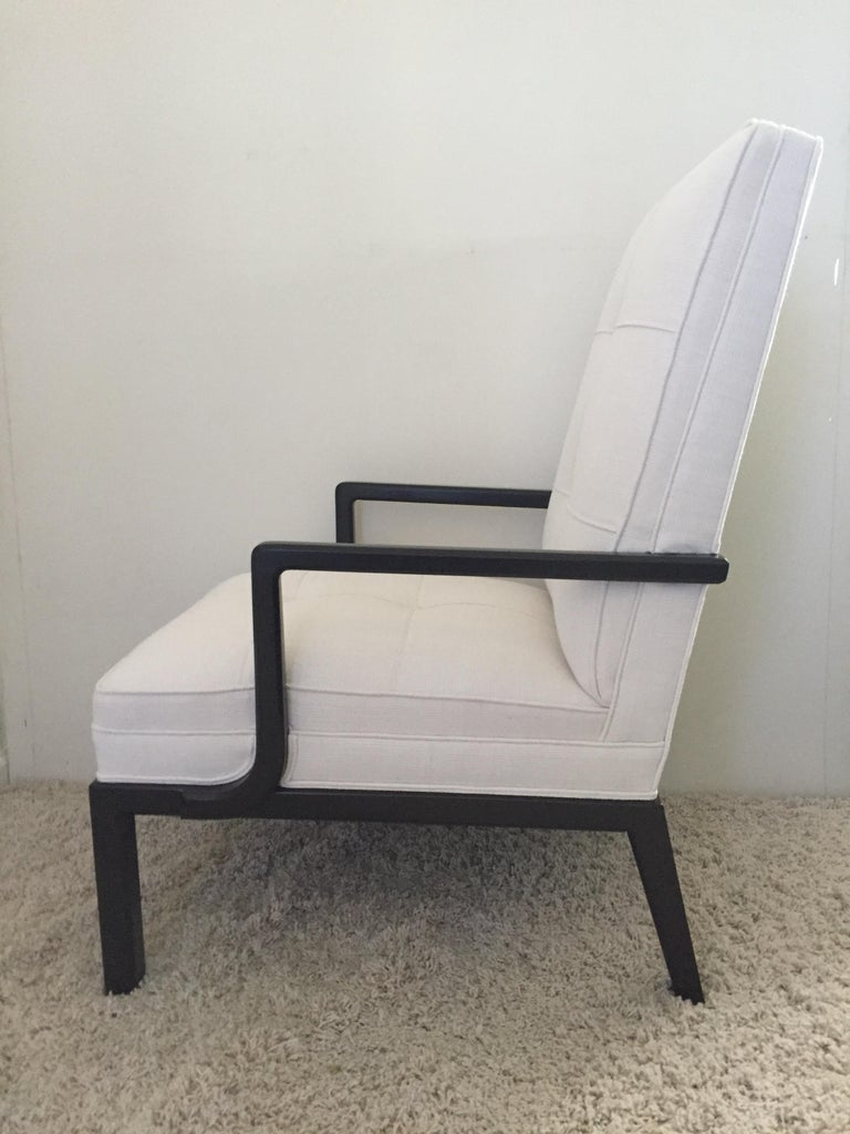 American Pair of Tommi Parzinger, Parzinger Original Club Chairs For Sale