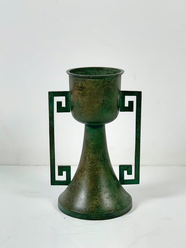 Pair of Vintage Japanese Bronze Usubata, Showa, Mid-20th Century, Japan For Sale 8