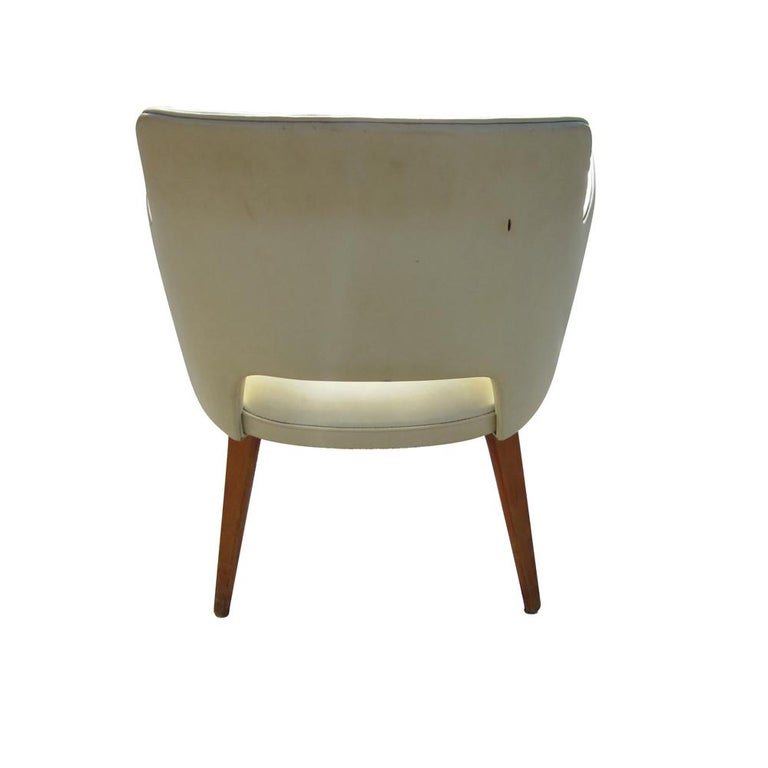 Mid-Century Modern Pair of Vintage Thonet Armchairs For Sale