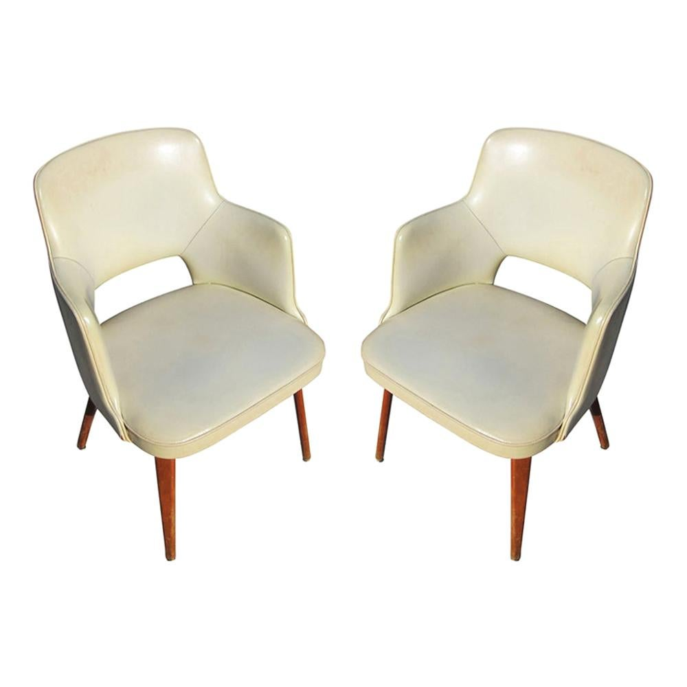 Pair of Vintage Thonet Armchairs