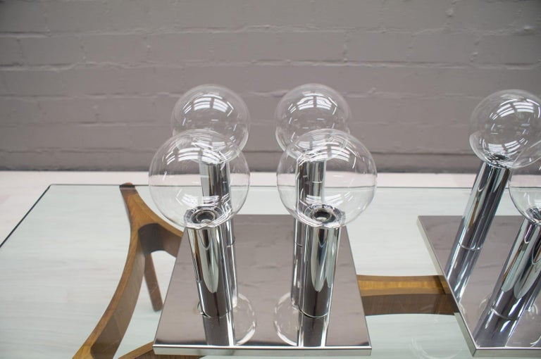 Pair of Wall or Ceiling Lamps by Motoko Ishii for Staff, 1970s For Sale 1
