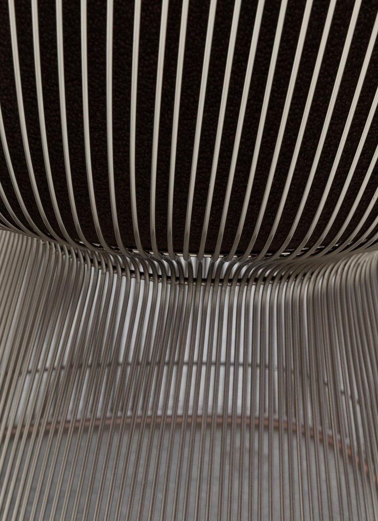 Pair Warren Platner Lounge Chairs In Good Condition For Sale In New York, NY