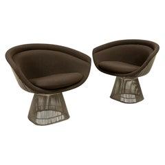 Pair Warren Platner Lounge Chairs