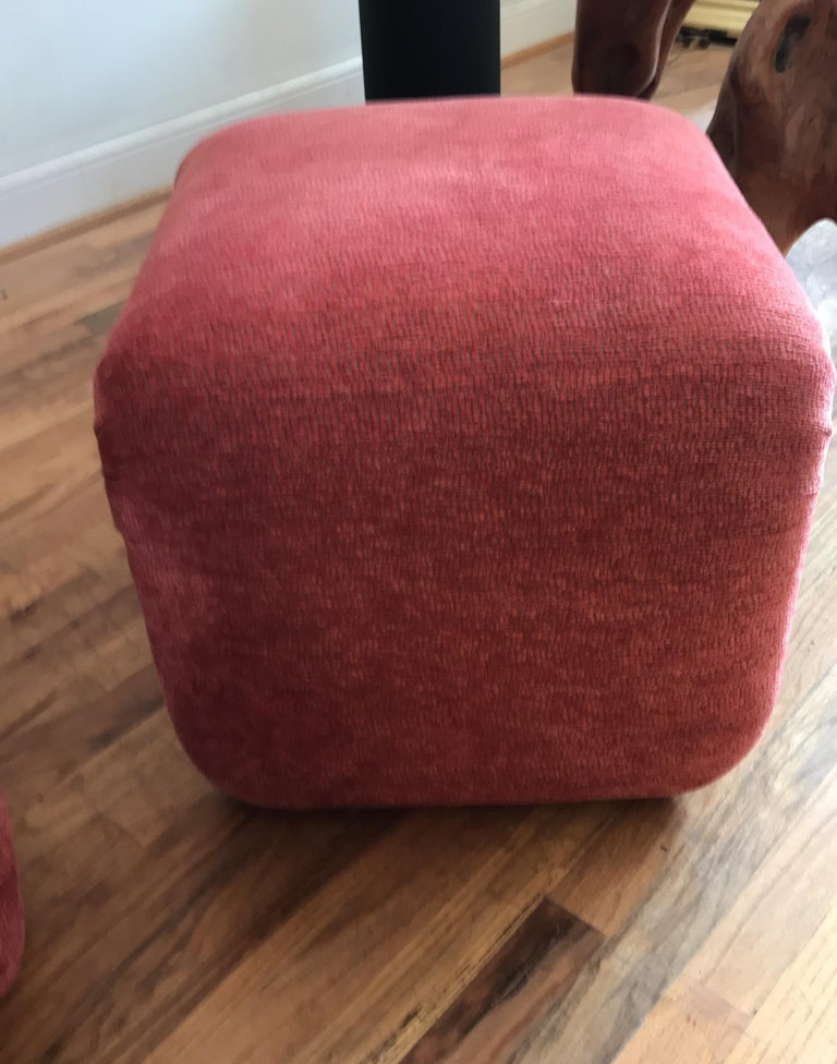 Pair of Waterfall Ottoman by Directional For Sale 4