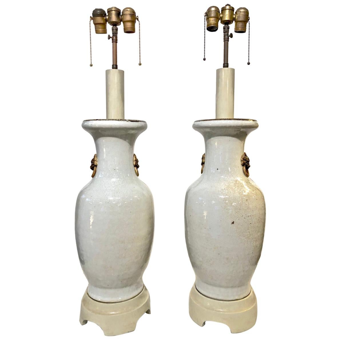 Pair of William 'Billy' Haines Lamps