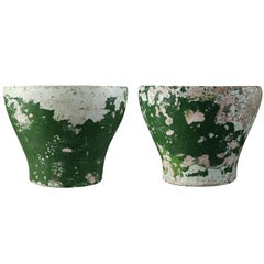 Willy Guhl set of two mid century small planters