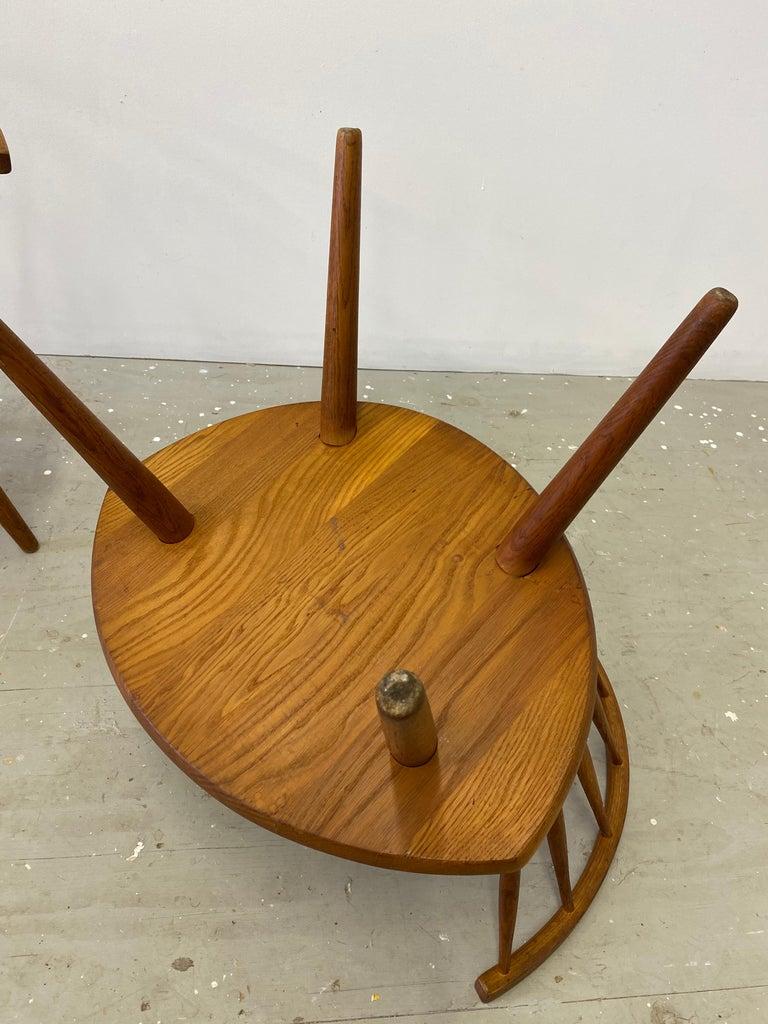"Pair of Yngve Ekstrom ""Arka"" Lounge Chairs For Sale 5"
