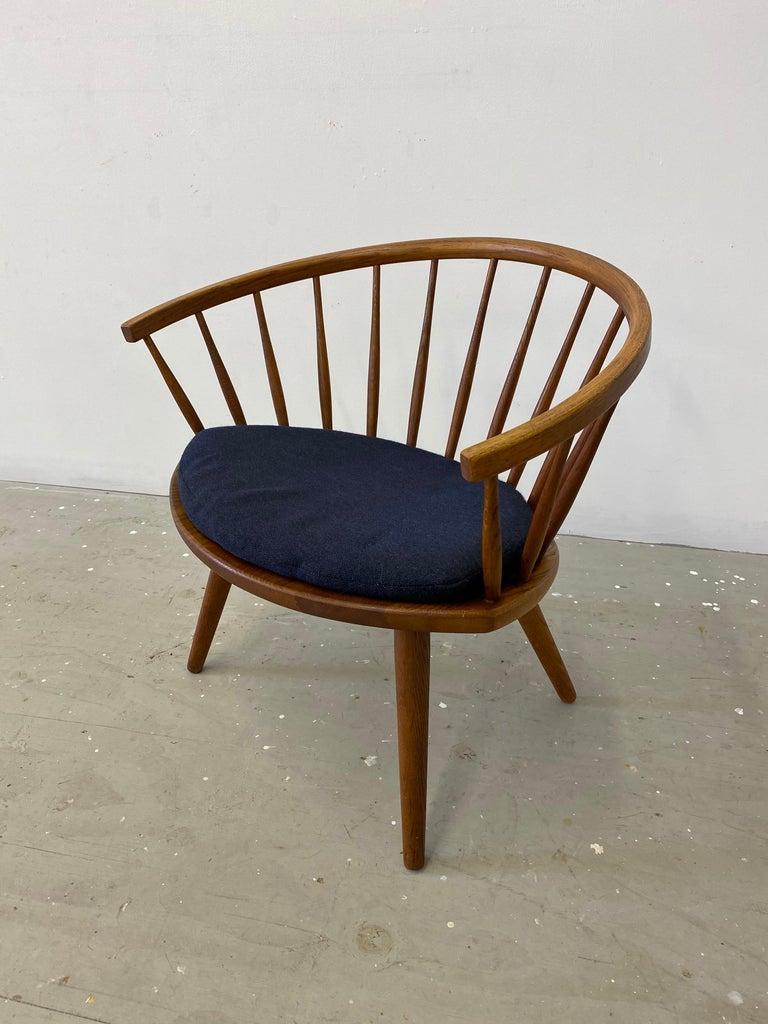 "Pair of Yngve Ekstrom ""Arka"" Lounge Chairs For Sale 1"