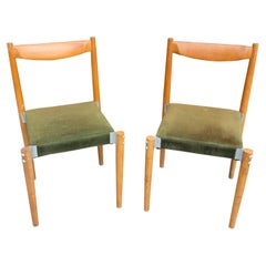 Pair of Czech Dinning Chairs, Designed by M. Navratil, 1970s