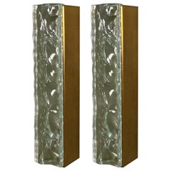 Pair of #2368 Sconces by Max Ingrand for Fontana Arte