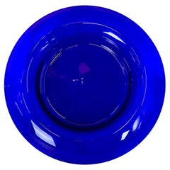 Hand Blown Cobalt Blue Bowl-Pairoint Type