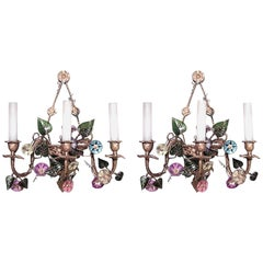 Pairs of French Louis XVI Style '19th Century' Wall Sconces