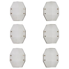 Pairs of Rare Model 12880 Wall/Ceiling Lights by Elio Monesi for Arredoluce