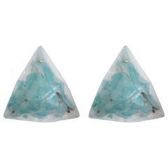 Pair of Triangular Sconces by La Murrina - 2 Pairs Available