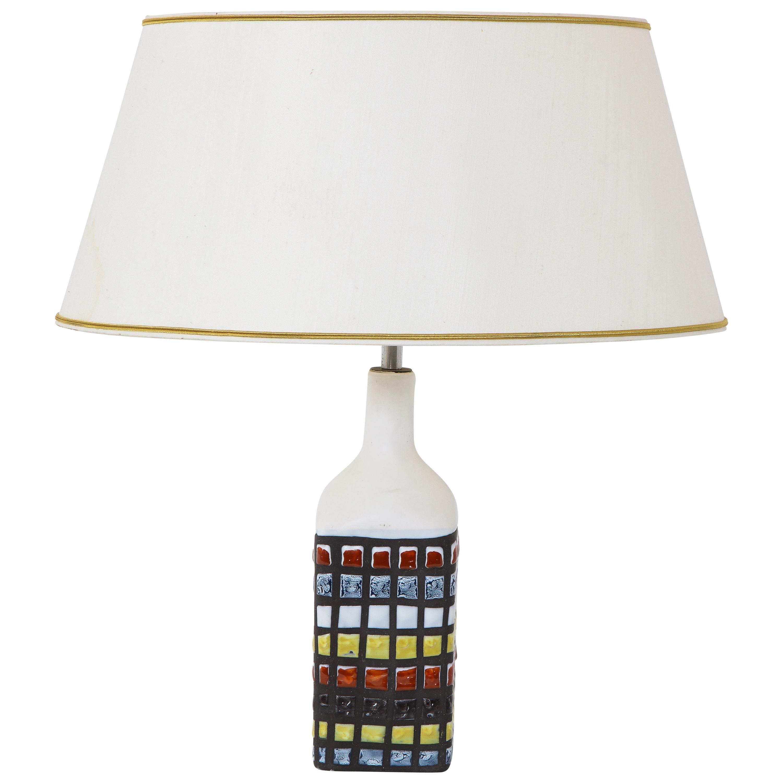 "''Pajama"" Ceramic Table Lamp by Roger Capron, France, 1960s"