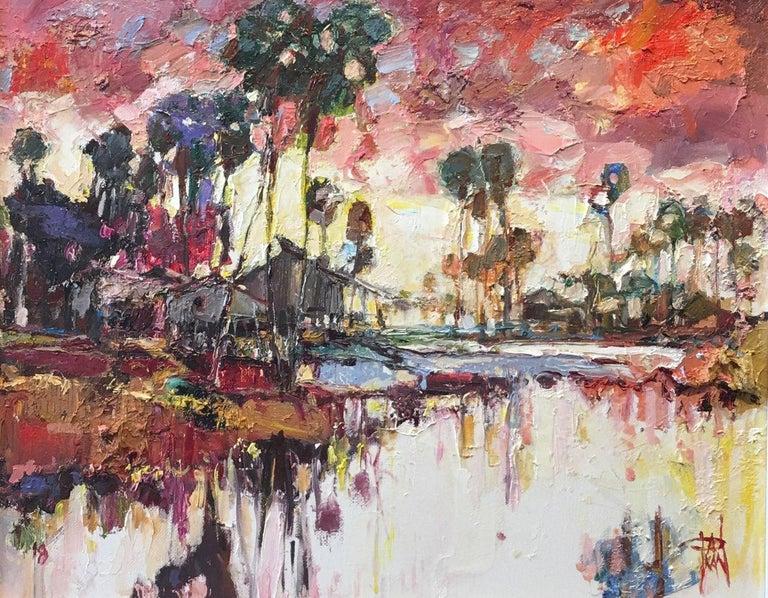 Pakan Penn Landscape Painting - Hot Day