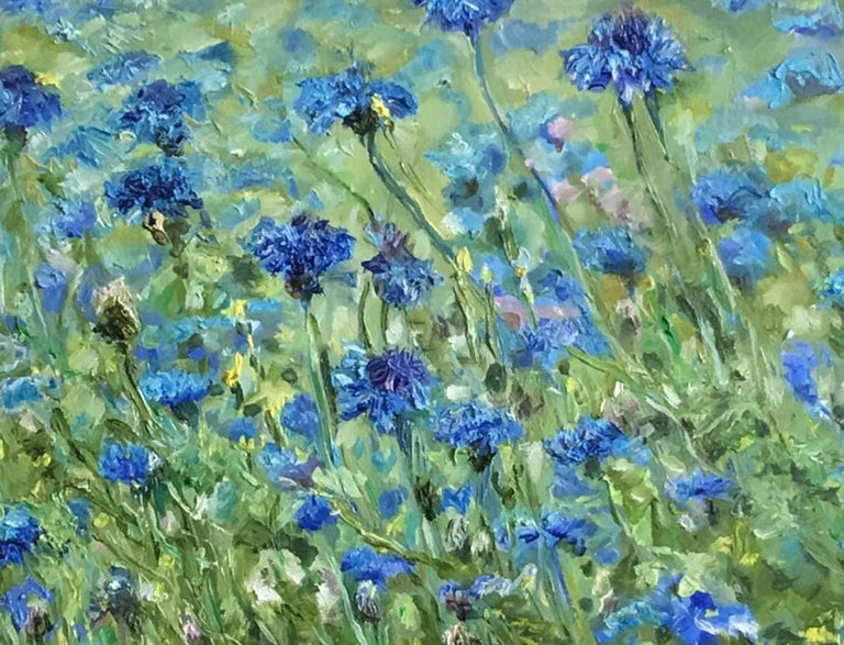 Tennessee Blue - Painting by Pakan Penn