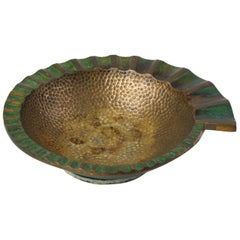 Pal-Bell Nautilus Ashtray in Cast Bronze by Maurice Ascalon