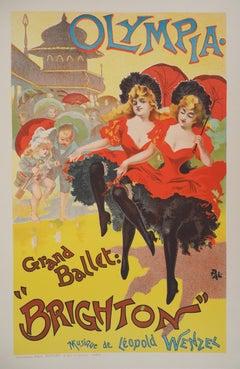 The Can-can Dancers - Lithograph (Les Maîtres de l'Affiche), 1895