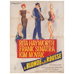 Pal Joey 1957 French Grande Film Poster