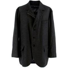 Pal Zileri Puffer Lined Wool & Cashmere Jacket - Size XXL