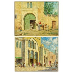 Palace After Bashaand a Cavalier by the Green Door by Addison Millar