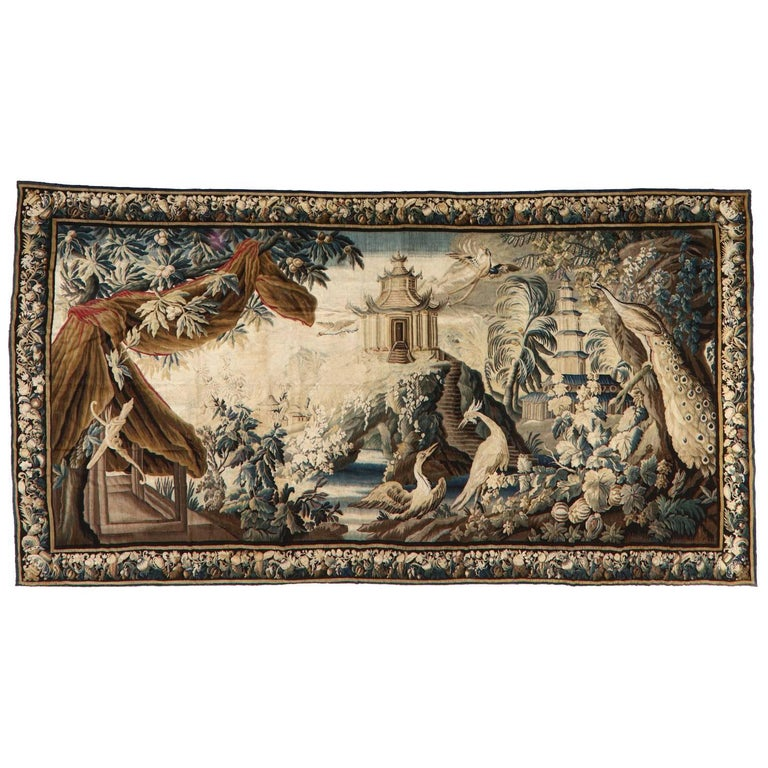 Palace Size Chinoiserie Tapestry
