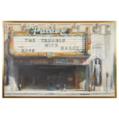 Palace Theatre Painting by Richard Bunkall