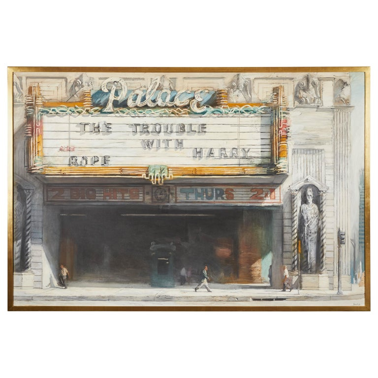 Palace Theatre Painting by Richard Bunkall For Sale