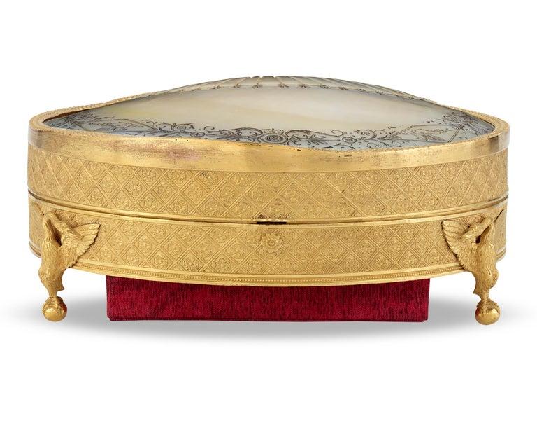 Louis XVI Palais Royal Mother-of-Pearl Box