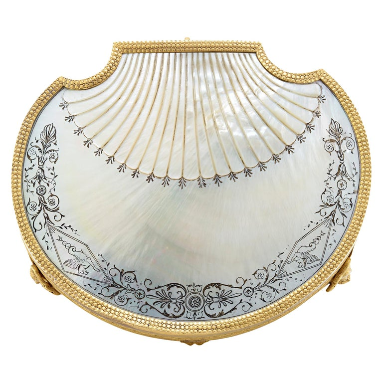 Palais Royal Mother-of-Pearl Box