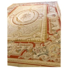 Palatial Aubusson Style Rug